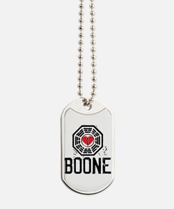 I Heart Boone - LOST Dog Tags