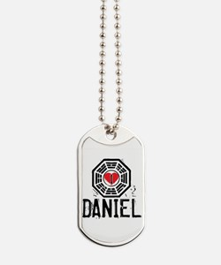 I Heart Daniel - LOST Dog Tags