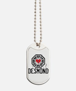 I Heart Desmond - LOST Dog Tags