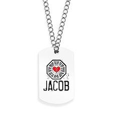 I Heart Jacob - LOST Dog Tags