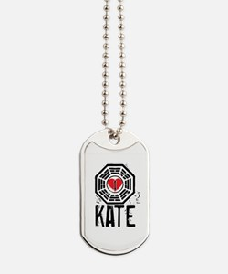 I Heart Kate - LOST Dog Tags