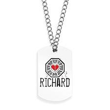 I Heart Richard - LOST Dog Tags