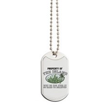 Property of the Island Dog Tags