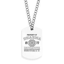 Dharma Initiative - Security Dog Tags
