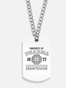 Property of Dharma - Arrow Dog Tags