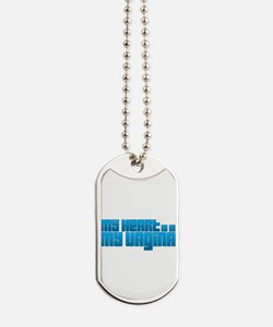 My Heart Is In My Vagina Dog Tags