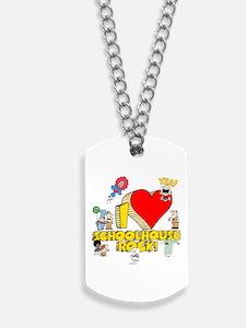 I Heart Schoolhouse Rock! Dog Tags