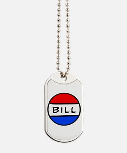 Bill Button Dog Tags