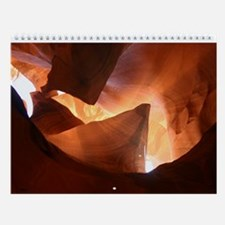 Unique Antelope canyon Wall Calendar