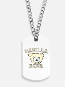 Vanilla Bear Dog Tags