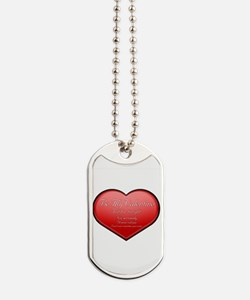 One Night Valentine Dog Tags
