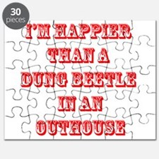 happy dung beetle Puzzle