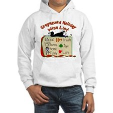 GREYHOUND HOLIDAY WISH LIST HOODED SWEATSHIRT