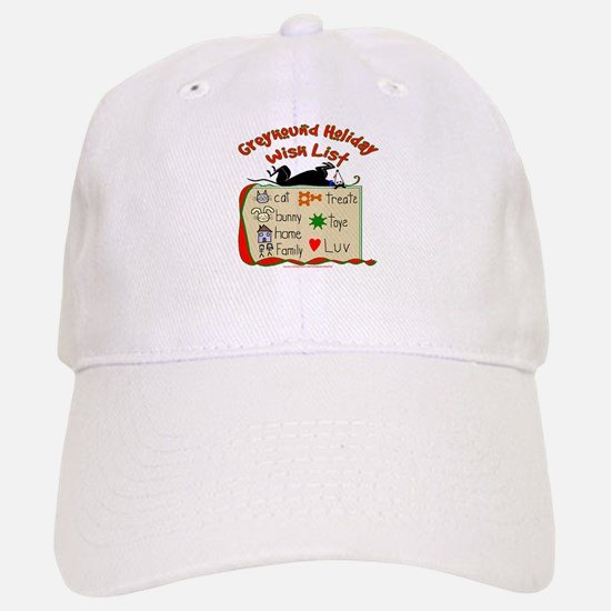 GREYHOUND HOLIDAY WISH LIST Baseball Baseball Cap