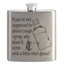 Cough Syrup Abuse Flask