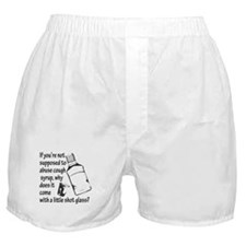 Cough Syrup Abuse Boxer Shorts