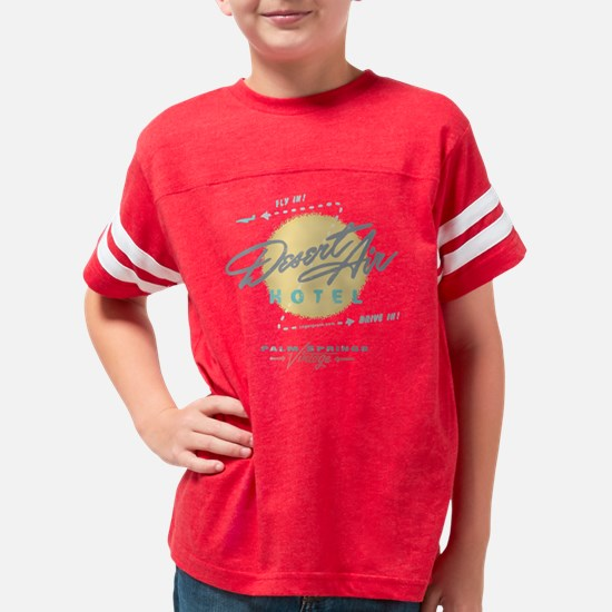 DESERT AIR HOTEL PALM SPRINGS Youth Football Shirt