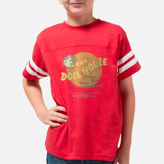 doll house PALM SPRINGS Youth Football Shirt