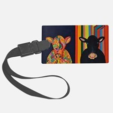 Two cows Luggage Tag