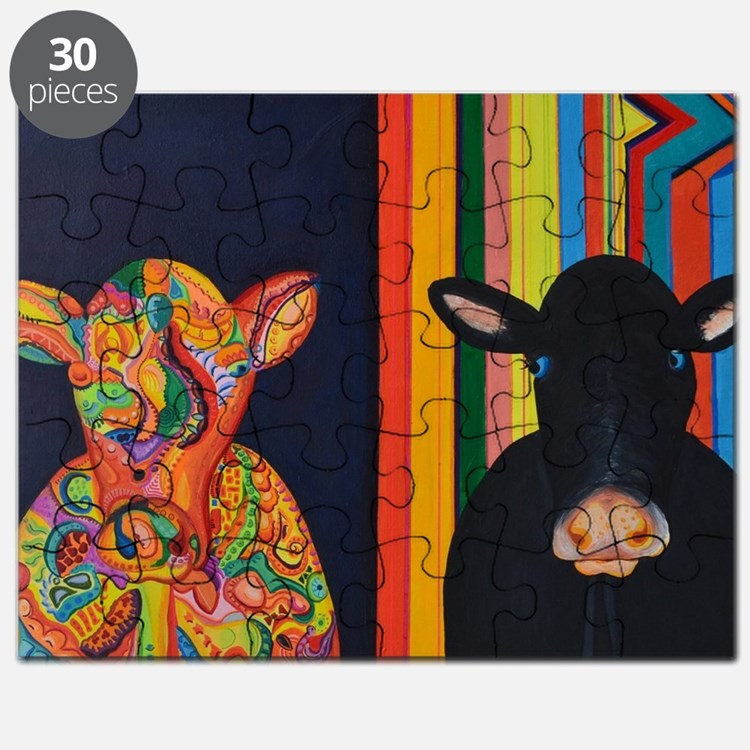 Two cows Puzzle