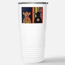 Two cows Travel Mug