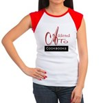 Addicted To Cookbooks Women's Cap Sleeve T-Shirt