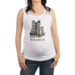 Vintage France Maternity Tank Top