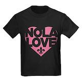 Nola love Kids T-shirts (Dark)