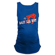 Bastille Day Maternity Tank Top