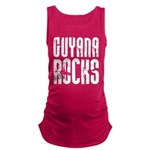 Guyana Rocks Maternity Tank Top