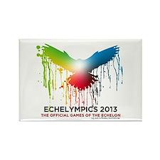 Cute A transparent logo of the echelympics 2013 Rectangle Magnet
