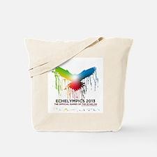 Cute A transparent logo of the echelympics 2013 Tote Bag