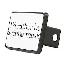 I'd rather be writing music shirt design Hitch Cov