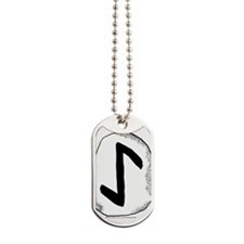 Eihwaz Rune - Defense Dog Tags