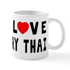 I Love Muay Thai Mug