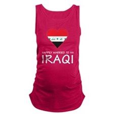 Happily Married Iraqi Maternity Tank Top