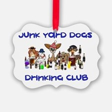 Junk Yard Dogs Drinking Club Ornament