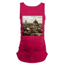 Vintage Florence Cathedral Maternity Tank Top