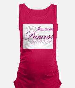 Jamaican Princess Maternity Tank Top