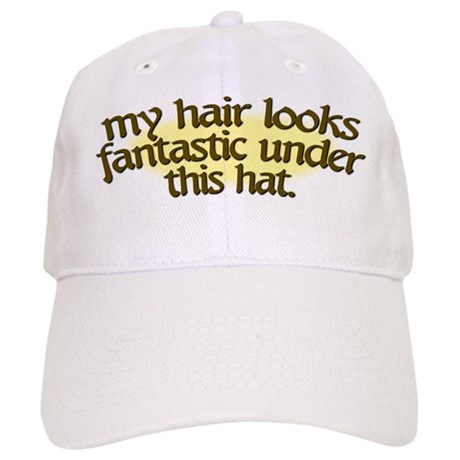 bad hair day cap by lyndasstudio
