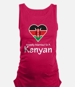 Happily Married Kenyan Maternity Tank Top
