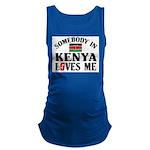 Somebody In Kenya Maternity Tank Top
