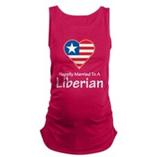 Happily Married Liberian Maternity Tank Top