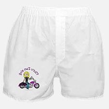 Custom Biker Boxer Shorts