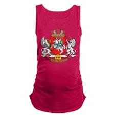 Lithuania Coat Of Arms Maternity Tank Top