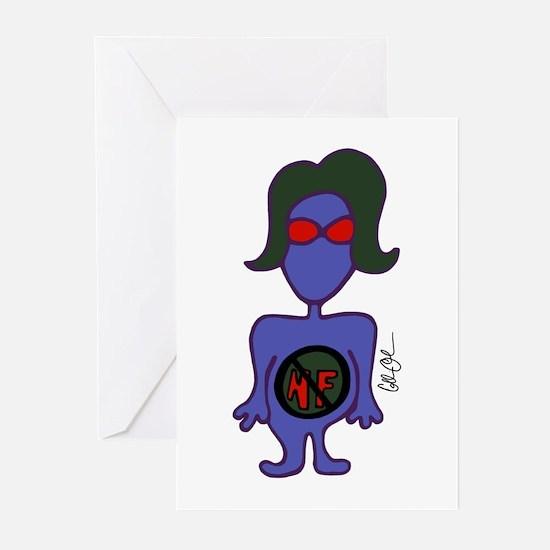 Alien Greeting Cards (Pk of 10)