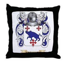 Crowley Coat of Arms Throw Pillow