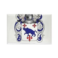 Crowley Coat of Arms Rectangle Magnet