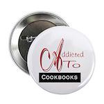 Addicted To Cookbooks Button