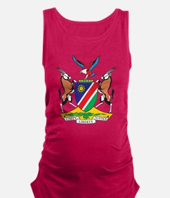Namibia Coat Of Arms Maternity Tank Top